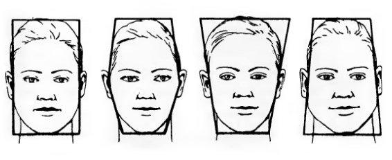 рисунок человека лицо: