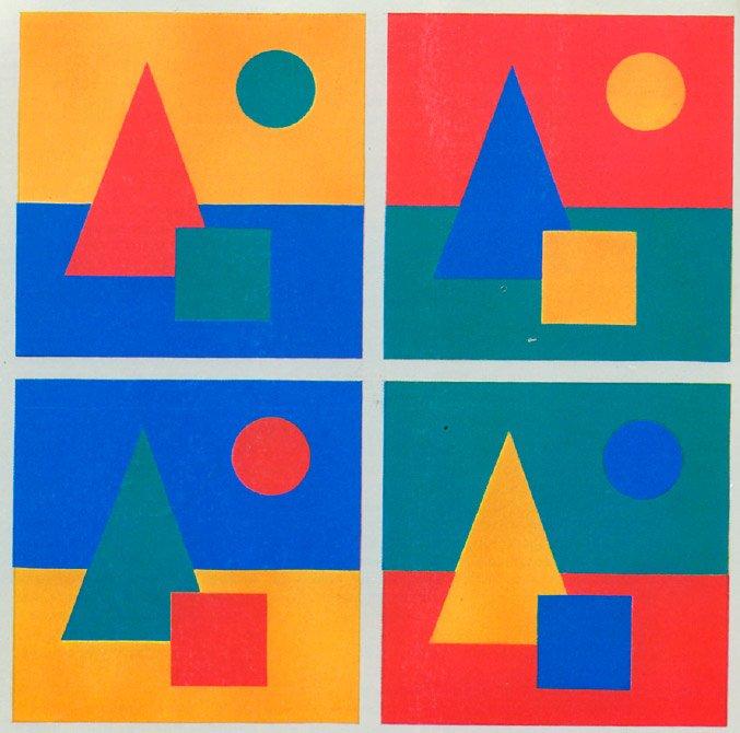 цветовой контраст в живописи