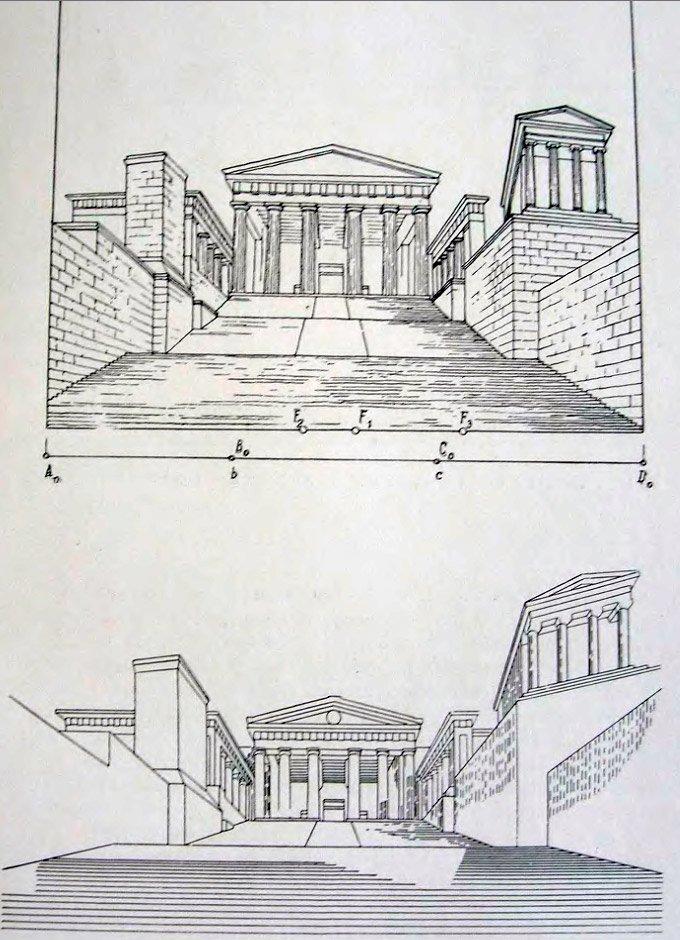 Перспектива входа в Афинский