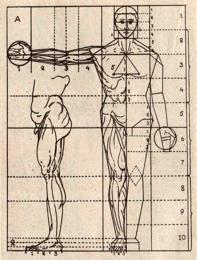 Дж. П. Ломаццо. Пропорции