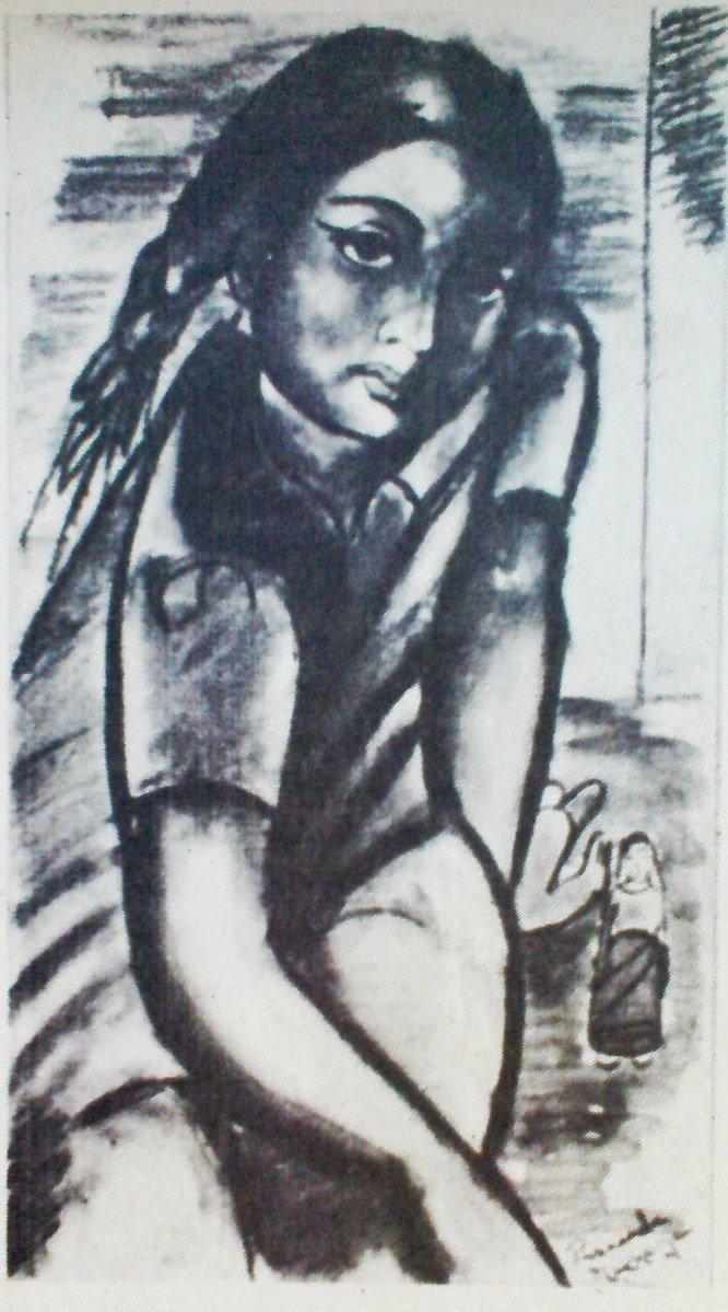 Рисунок ученика 13 лет