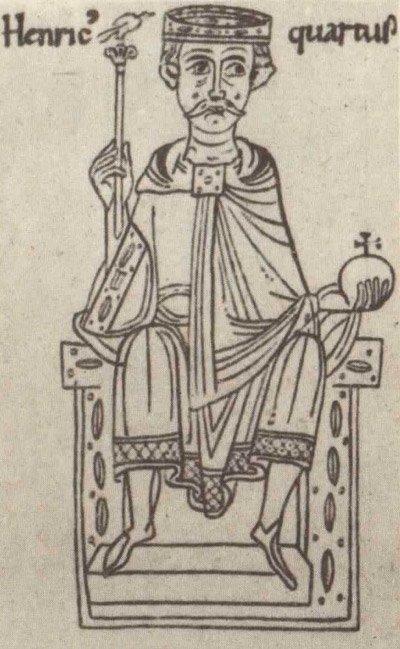 Генрих IV на троне