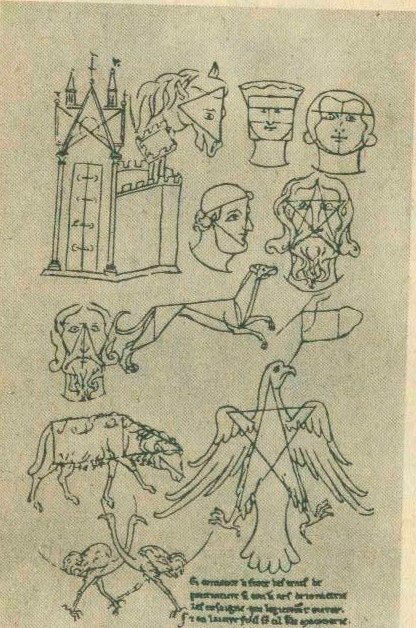 Виллар де Оннекур. Рисунки из записной книжки 2