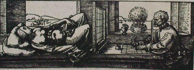 А. Дюрер. Перспективное рисование 2