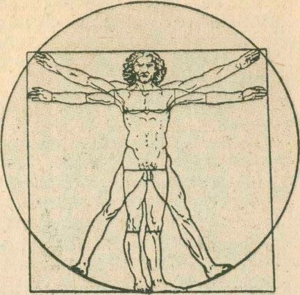 Леонардо да Винчи. Квадрат древних