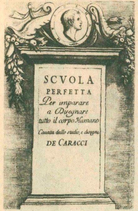 Титульный лист пособия Карраччи